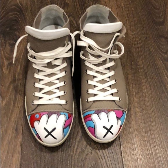 factory price 3a311 89722 Dior Other - Custom Christian Dior Sneakers Kaws Inspired Paint